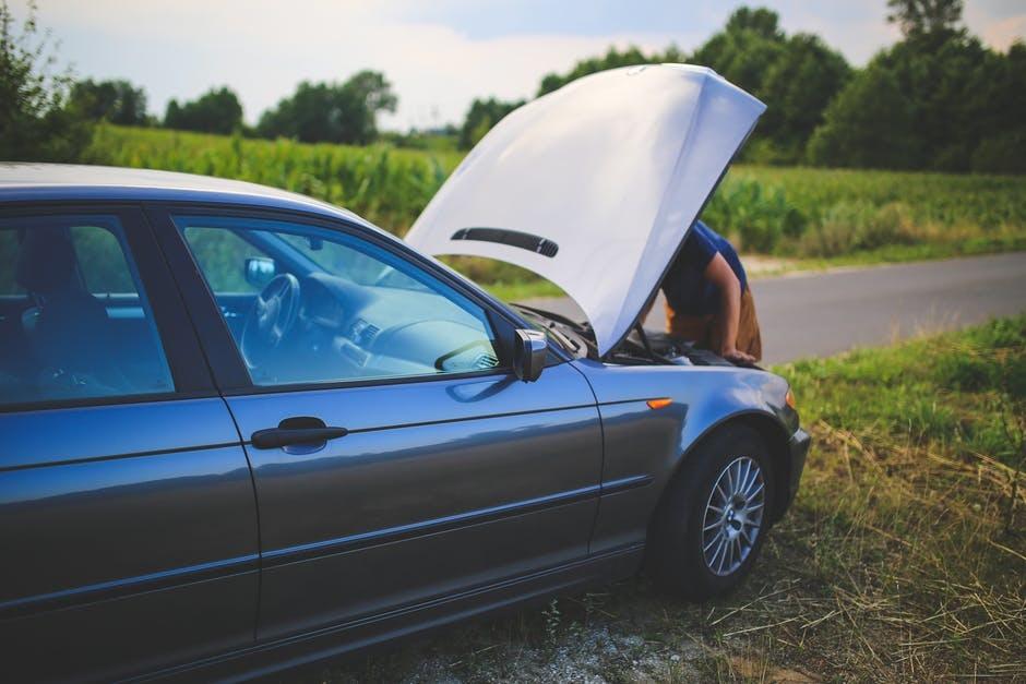 Авария во время поездки